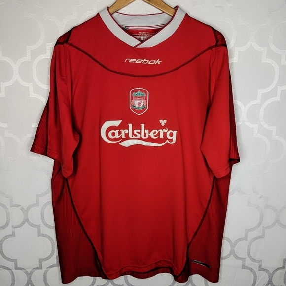 buy popular b076c b974b Vtg Liverpool FC Jersey